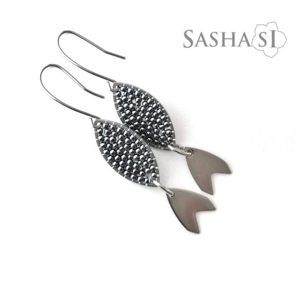 Náušnice rybky1 SashaSi