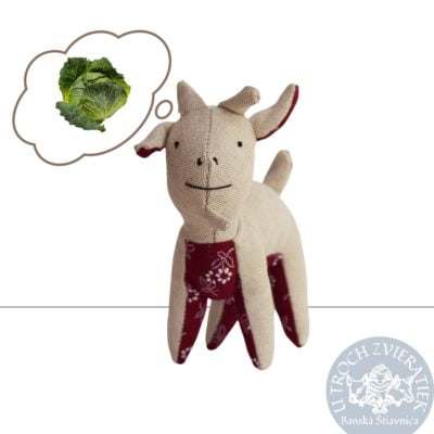 Textilná hračka Capko
