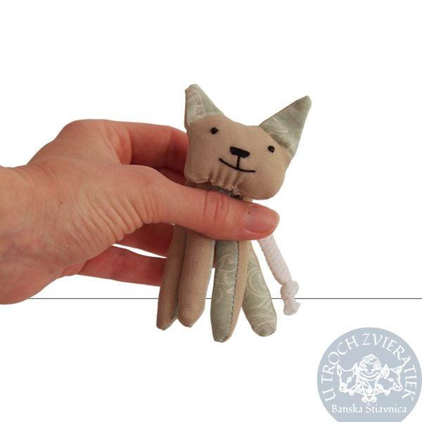 Texitlná hračka Mačička