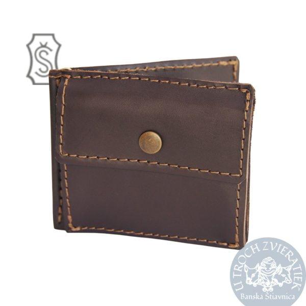 Kožená peňaženka dolárovka Šoučík