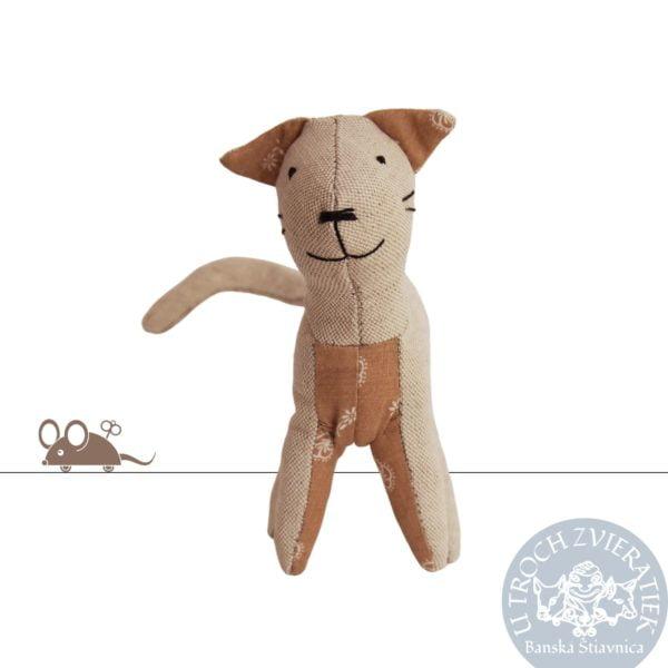 Textilná hračka Mačka