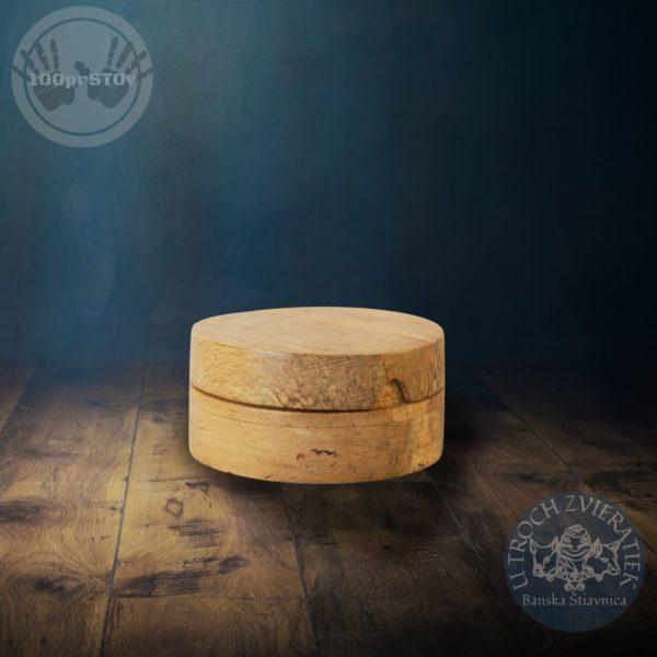 drevená šperkovnica z buku