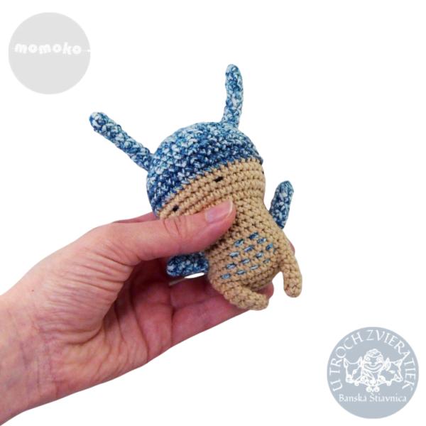 Zajačik Laco háčkovaný MOMOKO