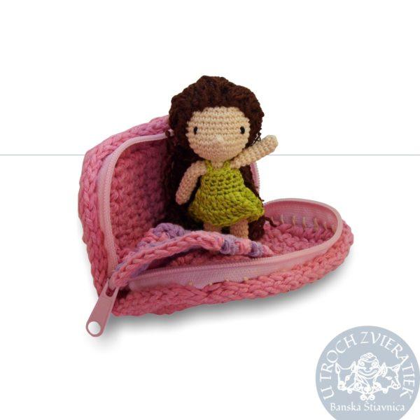 Háčkovaná bábika Nataška 3 Ručne robenvô