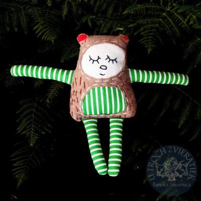 Textilná hračka Medvieďatko sbivé