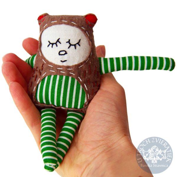 KONCITO medvieďatko snivé textilná hračka