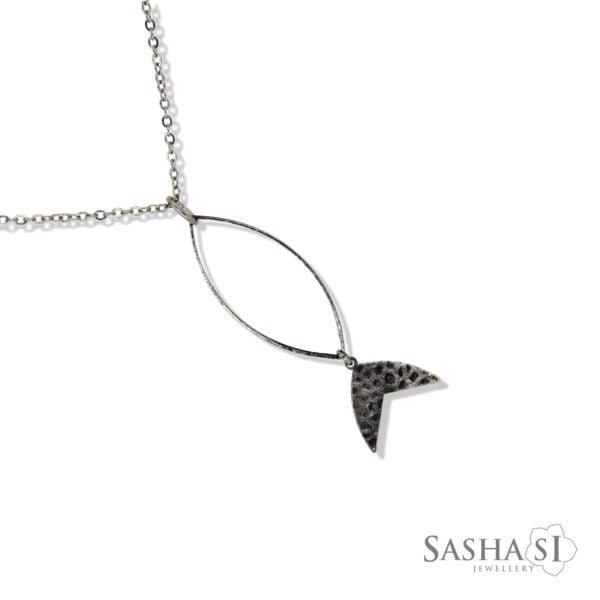 náhrdelník Rybka 1 SashaSi
