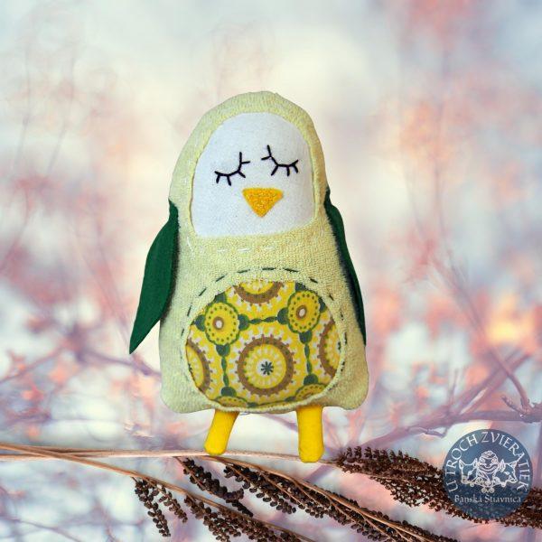 Hrkálka Tučniačik citrónový
