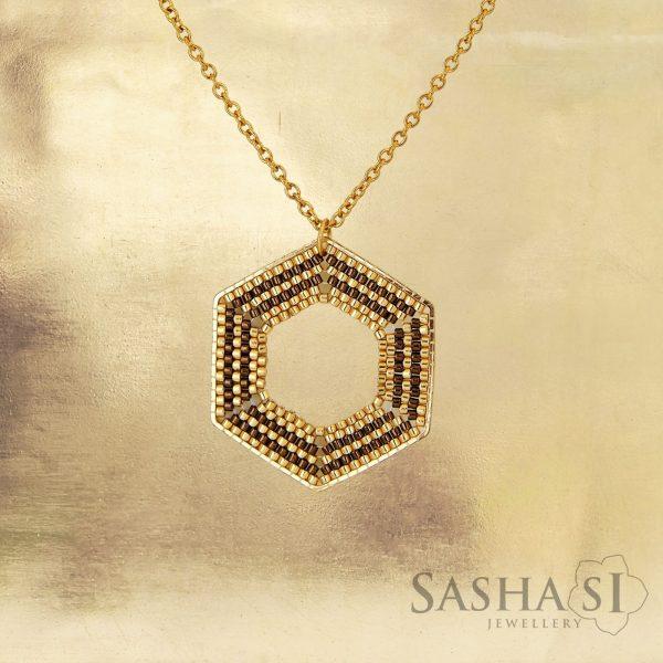 Náhrdelník HEXAGON 2 SashaSi