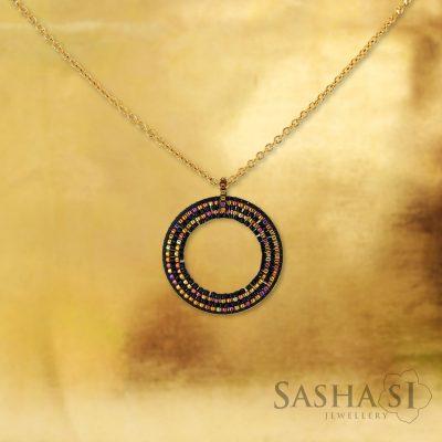 Náhrdelník KRUH 4 SashaSi