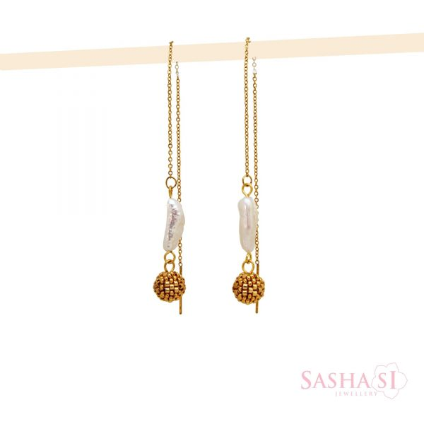 Náušnice Biwa 1 SashaSi