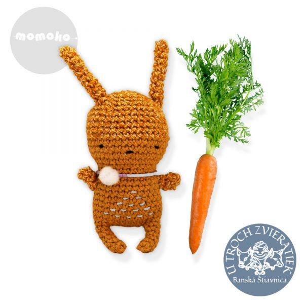 Zajačik oranžový MOMOKO