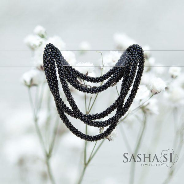 Náhrdelník šnúra Steel 1 kolekcia STEEL SashaSi